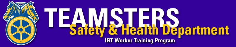 IBT Safety and Health Department Logo